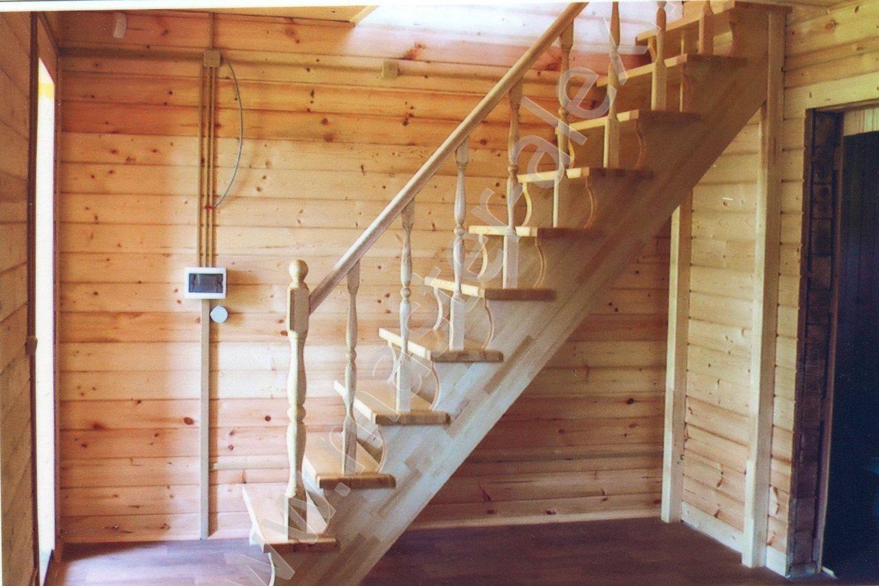 Лестница в доме своими руками фото
